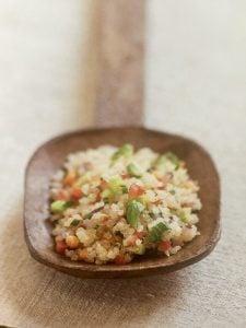 Quinoa con Verduritas Frescas