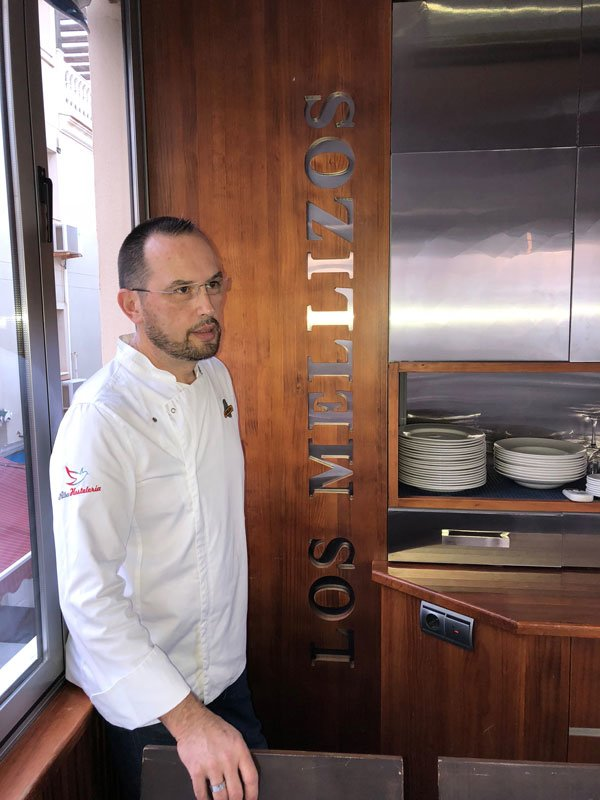 Chef Cristobal Martín