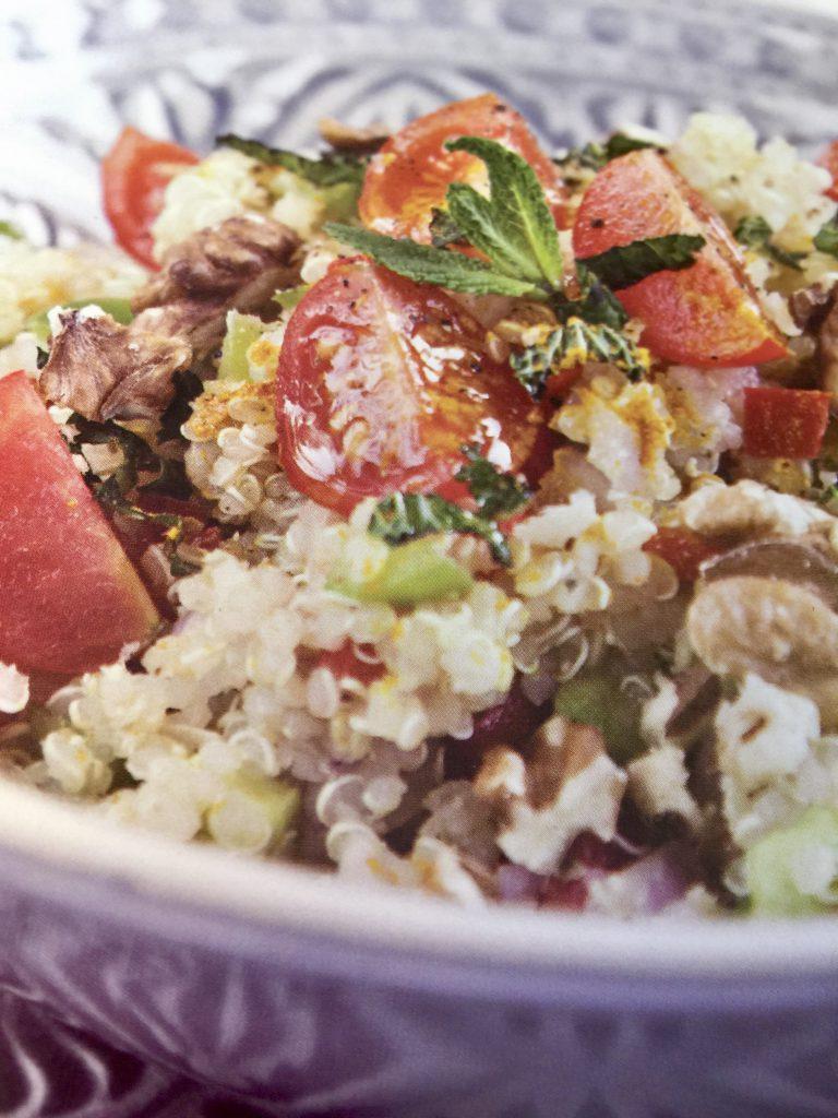 Ensalada de Quinoa con Nueces