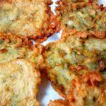Tortillitas de Camarones Fritas con Harina de Garbanzos
